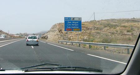Autobahn Teneriffa