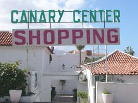 Canary Center Eingang von hinten