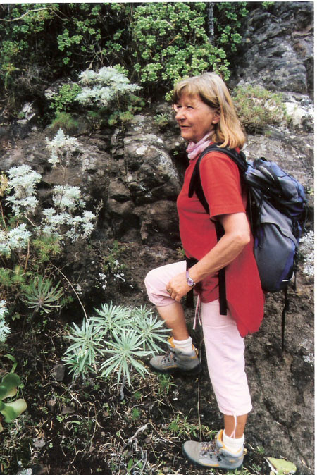Wanderführerin Christiane