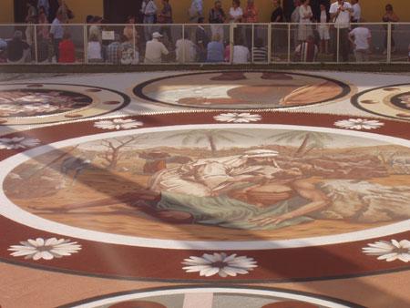 Corpus Christi Sandteppich