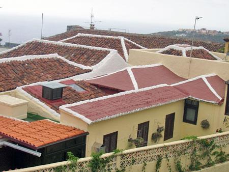 Dächer in Icod de los Vinos