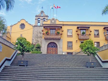 Schöne Gebäude in Icod de los Vinos
