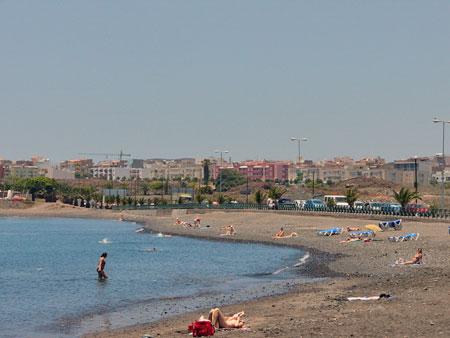 Strand in Las Galletas