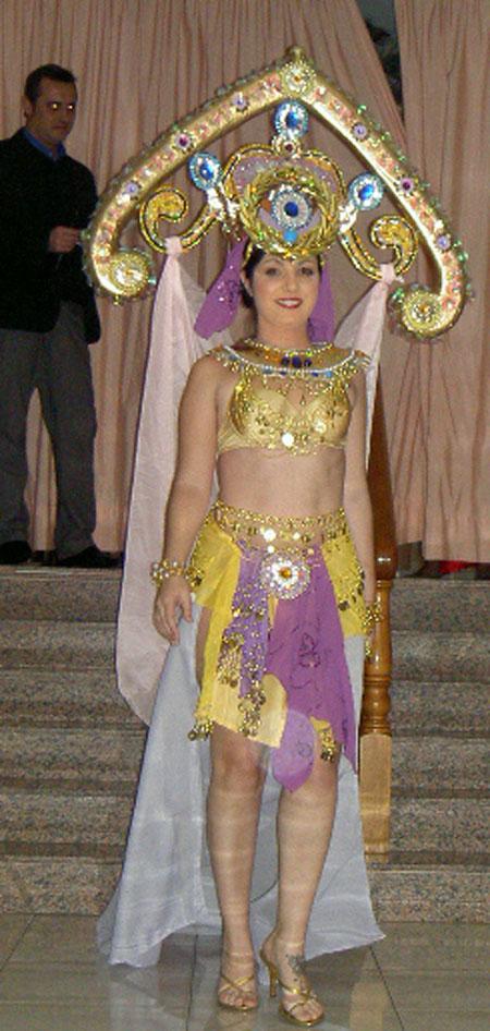 Ägyptisches Königinnenkostüm