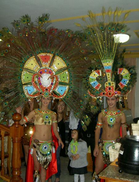 Afrikansiches Kostüm