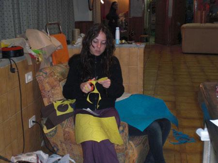 Vorbereitungen Karnaval