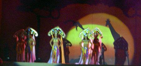Hesperides auf der Bühne