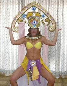 Ägyptische Göttin Karnevalskostüm