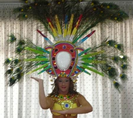 Kostüm Choreografie Thema Afrika