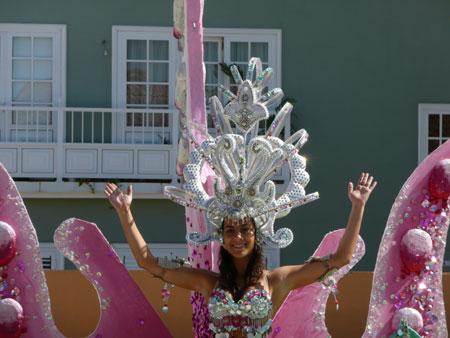 Kandidatin zur Wahl der Karnevalskönigin
