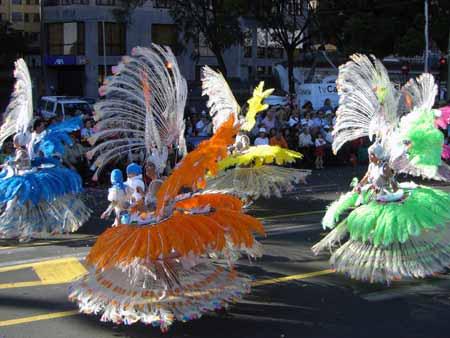 Parade Karneval Teneriffa