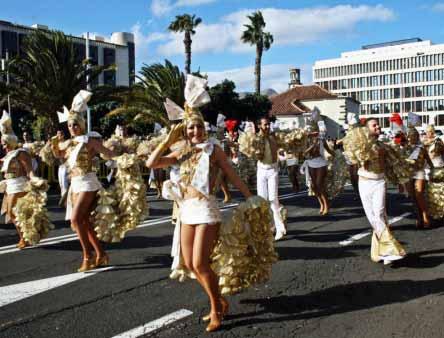Karneval Palmen