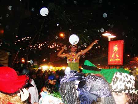 Strassenparty Karneval