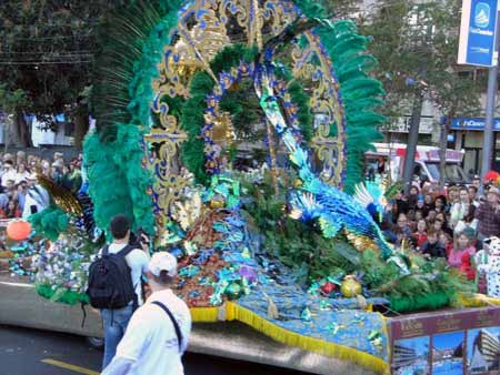 Umzugswagen Karneval Santa Cruz