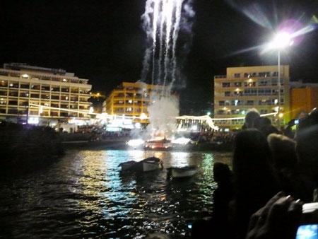 Sardine Feuer