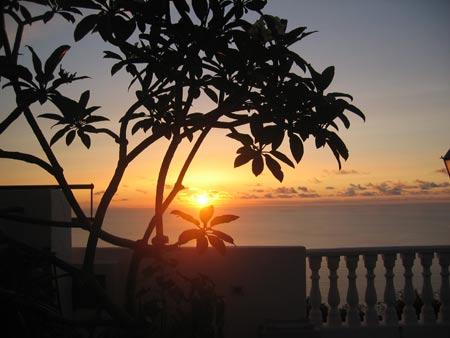 Sonnenuntergang Teneriffa Nord