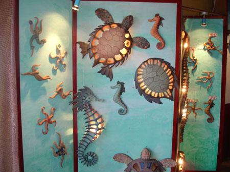 Kunsthandwerk Keramiklampen