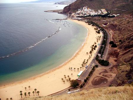 Playa Las Teresitas, Teneriffa