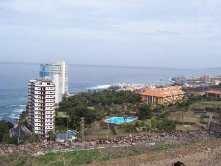 Ausblick von El Toscal auf das