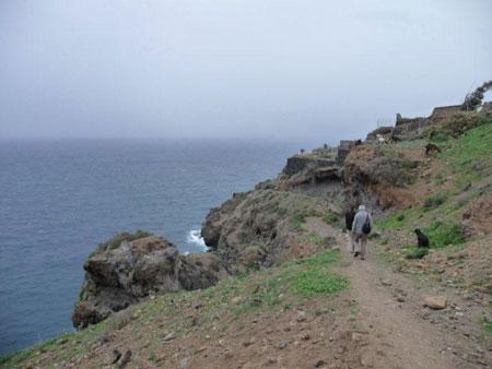 Wanderweg Rambla de Castro