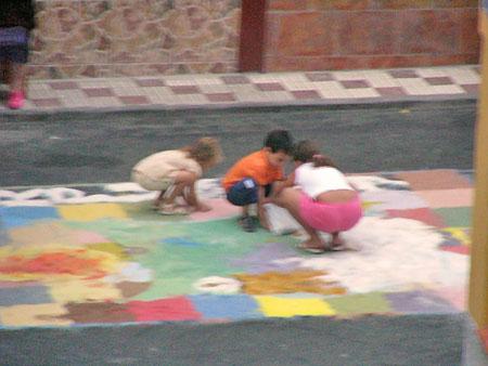 Kinder am Spielen