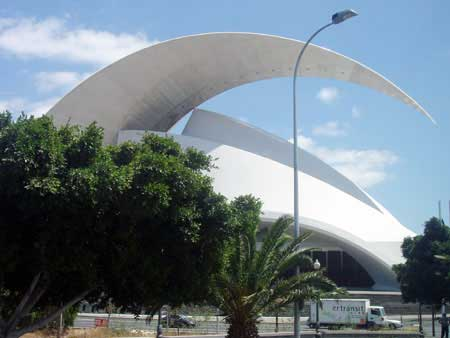 Santa Cruz, Auditorium