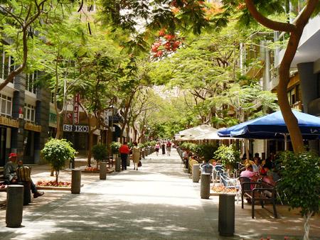 Fussgängerzone Santa Cruz