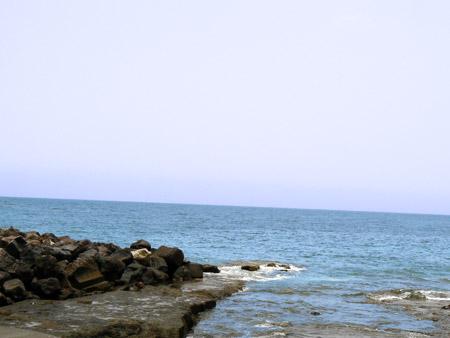 Das Meer in Santa Cruz, Teneriffa