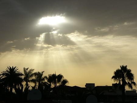 Sonnenuntergang in La Paz