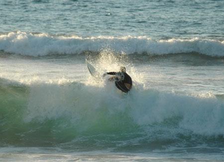 Surfen Playa Jardin, Puerto de la Cruz