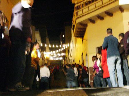Abfahrt - Fiesta de San Andrés