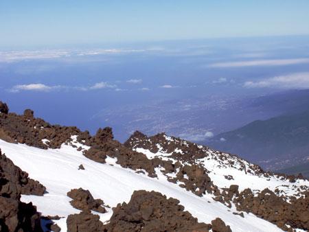 Pico mit Schnee
