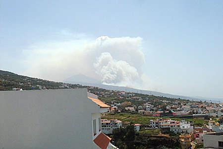 Waldbrand scheint außer Kontrolle