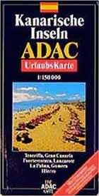 ADAC Karte Kanarische Inseln