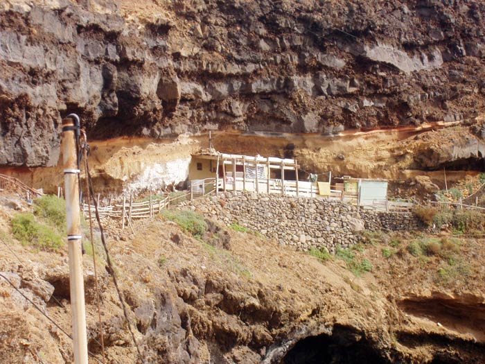 Höhle in El Caletón