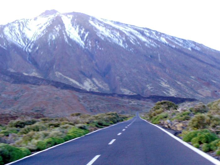 Strasse Teide - Teneriffa