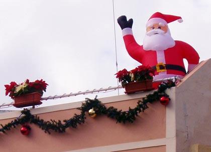 Weihnachtsmann Punta Brava - Teneriffa