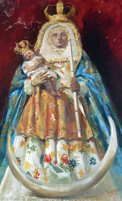 Virgin de Candelaria