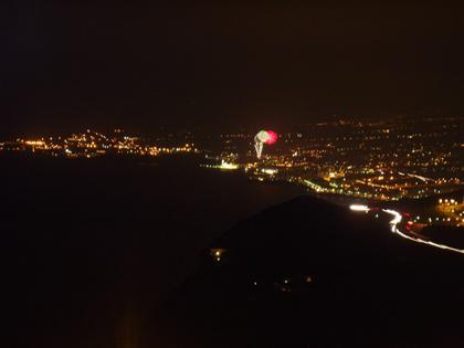 Candelaria - Ziel mit Feuerwerk