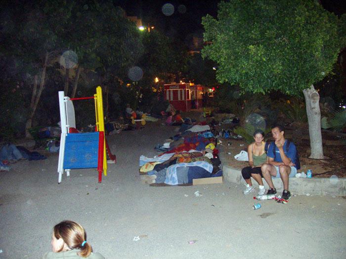 5 Uhr nachts... Leute schlafen