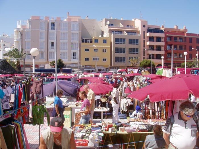 Markt in El Medano - Teneriffa