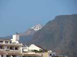 Blick auf Teide, Los Christianos