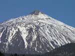 Pico del Teide, schneebedeckt