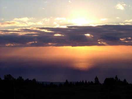 Granadilla de Abona - Sonnenuntergang