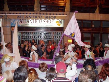 Schiff, Karneval in Puerto de la Cruz, Tenerife