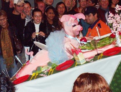 Schwein, Karneval in Puerto de la Cruz, Tenerife