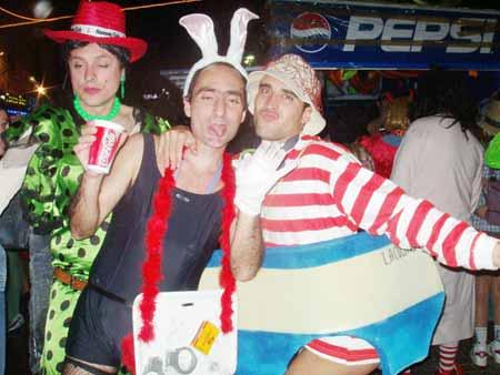 Boot-Kostüm, Karneval in Puerto de la Cruz - Teneriffa