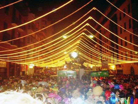 Strassenparty - Karneval in Puerto de la Cruz - Teneriffa