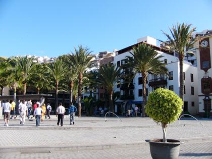 Plaza in San Sebastian
