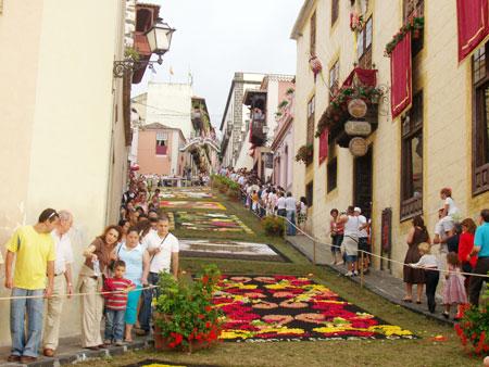 Blumenteppiche in La Orotava 2007 - Teneriffa